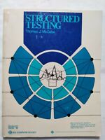 BOOK STRUCTURED TESTING THOMAS J. McCABE 0818604522