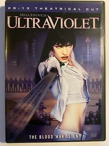 Ultraviolet (DVD, 2006, Rated Theatrical Edition) Milla Jovovich