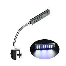 EctEnx Led Aquarium Light, Fish Tank Light, Clip on Fish Tank Lighting Color .