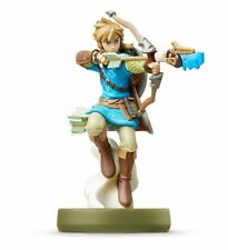 Nintendo Amiibo Link The Legend of Zelda Wild Bow & Arrow Figure Japan IMPORT