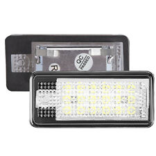 Right Side LED Car License Plate Lamp for Audi Q7 A3 S3 S4 B6 A6 C6 A8 S8  Light