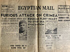 Egyptian Mail Cairo Newspaper November 4 1943 Furious Attack On Crimea