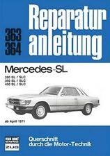 Reparatuhandbuch Mercedes 280 SL / 280SLC, 350 SL / 350SLC, 450 SL / 450SLC
