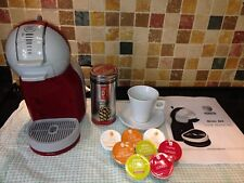 **NEARLY NEW** KRUPS NESCAFE DOLCE GUSTO KP120 COFFEE MACHINE/MAKER --- GREY/RED