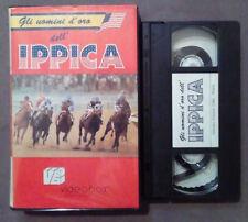 VHS FILM Ita Gli Uomini D'Oro Dell'IPPICA johhny longden ex nolo no dvd(VH63)