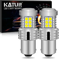 2 x ampoule CANBUS 24W LED BA15S 1156 P21W Blanc Voiture Feux Jour Clignotant