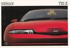 NISSAN TRI-X Concept Car Studie Prospekt 1991 ++++++++++++++++++++++++++++++++++