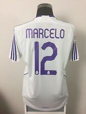 MARCELO #12 Real Madrid Home Football Shirt Jersey 2007/08 (L)