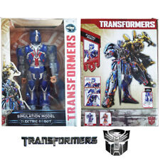 TRANSFORMERS THE LAST KNIGHT OPTIMUS PRIME TALKING WALKING ACTION FIGURES TOY