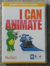 Children's CD-ROM I Can Animate Kudlian Software PC Mac
