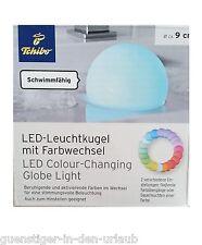 TCM Tchibo LED Leuchtkugel mit Farbwechsel Lampe Licht Kugel Badewanne