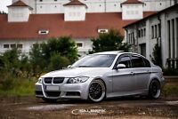 schwarz glänzende Nieren 3er BMW E90 Touring VFL Frontgrill M3 salberk 9001