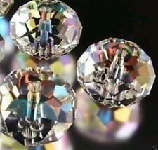 70pcs Wholesale Swarovski Crystal Gemstone Loose Beads -White+AB A18
