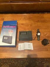 Vintage Brookstone Radio Controlled Projection Atomic Clock W/Original Box, Rare