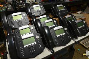 Lot Of 10 Polycom SoundPoint IP 550 Digital Phones 2201-12550-001