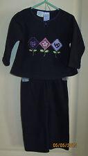 Baby Toddler 18M Simply Basic Flower Kites Outfit Sweats Pajamas Shirt Pants