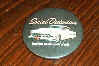 Social Distortion fridge magnet 58mm - punk / rockabilly / country #2