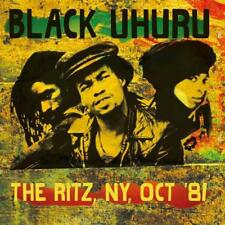 BLACK UHURU – THE RITZ, NY, '81 (NEW/SEALED) CD LIVE