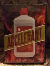 ACCELERANT DVD BY JAMES MACDONALD   NEW -   See description