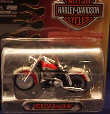 ** Harley-Davidson ** 1958 FLH Duo Glide ** maisto * neu*1: 24 * standmod.