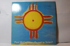 """paul mccartney ou est le soleil 12"""" vinyl 2034136 1989 parlophone"""