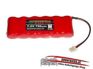Akku für Schnurlose Telefone, Funk und ähnliche geräte 2/3AA 7.2V750mAh flach...