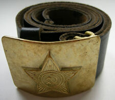 USSR Soviet Military Red Army Leather Belt Buckles NEW