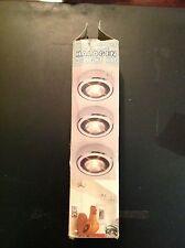 Microlight  Under Cabinet Low Voltage Halogen 3-Light Kit
