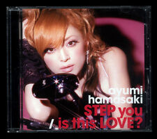 JAPAN:AYUMI HAMASAKI - STEP You / Is This LOVE?  CD Single ,JPOP, JROCK ,AYU ,