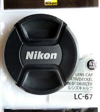 Nikon LC-67 67mm Lens Cap for Nikon Lenses  with 67mm filter size Genuine