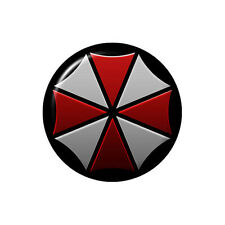 Umbrella Corporation Logo Button Badge - 2.5cm 1 inch NEW Resident Evil