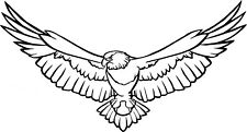 Caravan Adesivo EAGLE | Caravan Camper | rapido-Pilote-SWIFT-Bailey | (BB062)