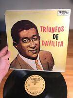 Triunfos De Davilita Alta Fidelidad Tropical Album Record Vinyl