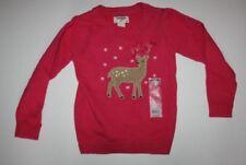 Maglione rosa per bambine dai 2 ai 16 anni 100% Cotone