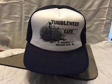 Tumbleweed Cafe Broken Bow Nebraska  Mesh Adjustable Baseball Cap Hat
