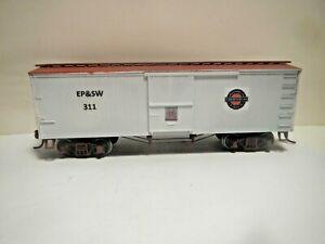 HO Custom MDC Truss Rod Box Car El Paso Southwestern #311 KDs
