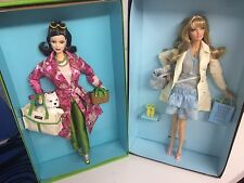 Limited Edition And Gold Label, Kate Spade, Cynthia Rowley, 2 lot barbie dolls
