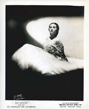 Ada Leonard original publicity photo glamour pose All American Girl Orchestra