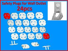 24 New Safety Covers for Wall Electrical Outlets Protect against Electric Shock