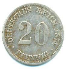 KR, 20 Pfennig 1874 D Munich