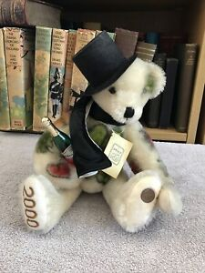 Grisly Teddy - Sylvester Bear - Limited Edition - Label - Mohair - Vintage