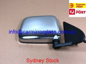 NEW DOOR MIRROR FOR NISSAN NAVARA D21 1986-1997 LEFT SIDE (FOR WITHOUT VENT)