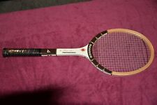Ken Rosewell Vintage Tennis Racket wood NOS Perfect condition wrapper still on