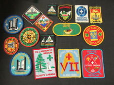Scouts Canada District and Region Patch Lot      FX #11