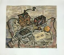 """Joan Miro: """"Le Moulin a Cafe (The Coffee Grinder): original LITHOGRAPH MINT COND"""