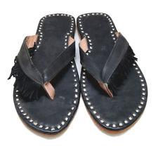 black designer womens slippers leather sandals shoes flip flops falts sandals