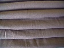 HEAVY COTTON STRETCH FINE RIB JERSEY-TAUPE -DRESS FABRIC-FREE P&P