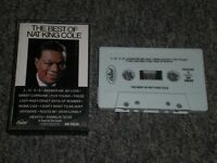 The Best Of Nat King Cole~1968 Jazz Swing~Vocal~Cassette Tape~FAST SHIPPING!