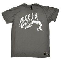 Climbing Evolution T-SHIRT Rock Climb Mountain Science Funny birthday gift