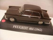 voiture 1/43 eme IXO ALTAYA PEUGEOT 404 Marron 1962